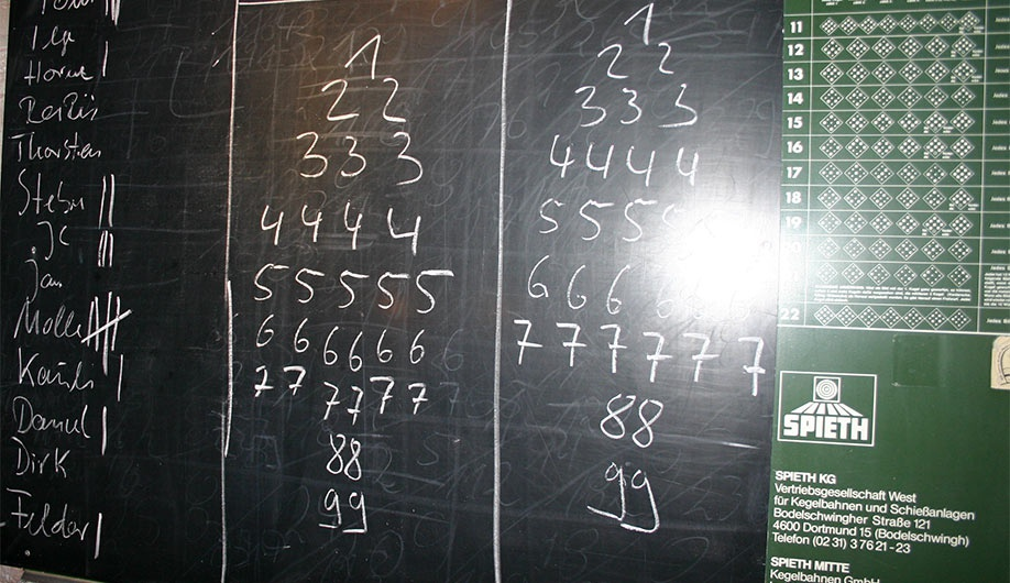 Kegelspiele Gruppenspiele
